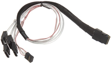 Silverstone SST-CPS03 Mini SAS To SATA Cable 0.5m