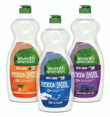 Seventh Generation Hand Dish Wash 500ml Free & Clear