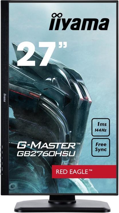"Monitorius Iiyama G-Master GB2760HSU-B1, 27"", 1 ms"