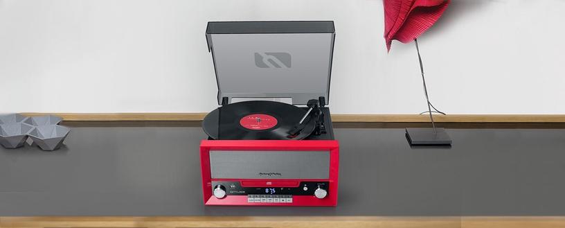 Plaadimängija Muse MT-110 RD Red, punane, 3.8 kg