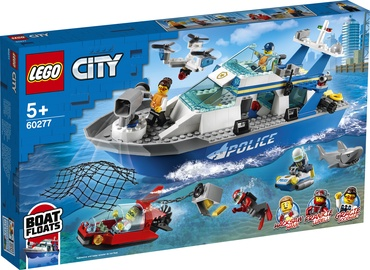 KONST LEGO CITY POLICE PATRULLPAAT 60277