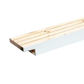 Durų stakta Viljandi HOR9, horizontalioji, balta, 890 x 92 x 42 / 29 mm