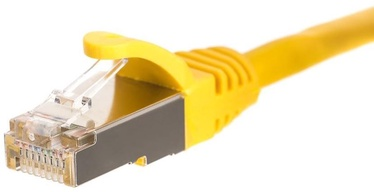 Netrack CAT 5e FTP/STP Patch Cable Yellow 0.25m