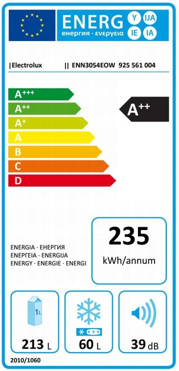 Iebūvējams ledusskapis Electrolux ENN3054EOW