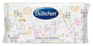 Drėgnos servetėlės Bubchen Sensitive, 52 vnt.