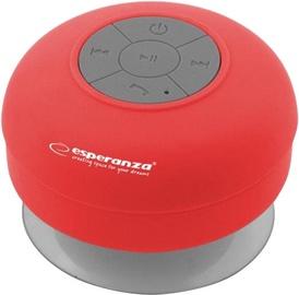 Belaidė kolonėlė Esperanza EP124R Bluetooth Speaker Red