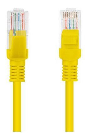 Lanberg Patch Cable UTP CAT 5e 15m Yellow