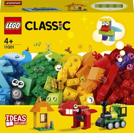 Конструктор LEGO Classic Модели из кубиков 11001, 123 шт.