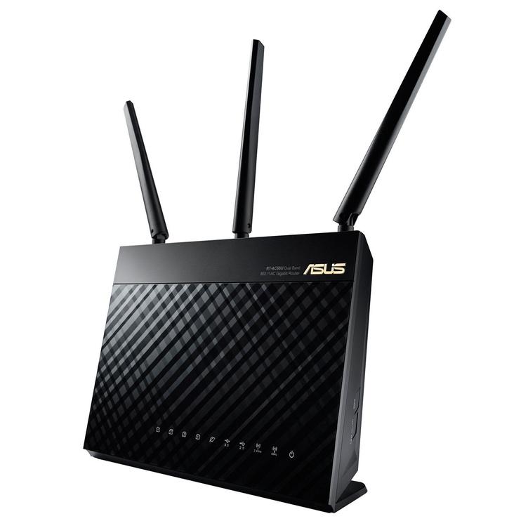 Asus RT-AC68U + RT-AC68U Routers