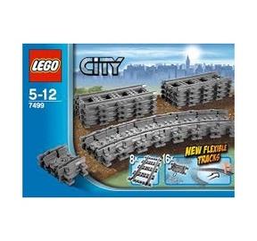 Konstruktorius LEGO City,  Lankstieji bėgiai 7499
