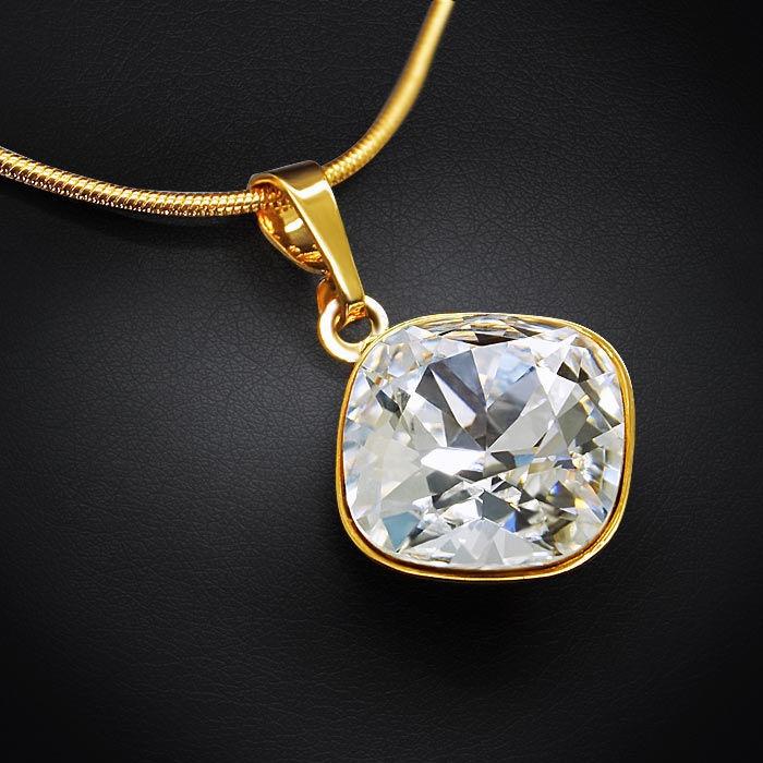 Diamond Sky Pendant Bijoux Glare IV With Swarovski Crystals