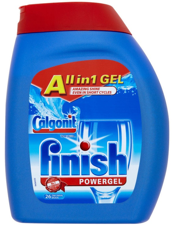 Indaplovių skystis Finish All in 1 Powergel, 650 ml