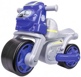 Vaikiškas dviratis BIG Police Bike Blue/Grey