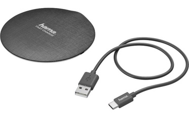 Hama Wireless Charger FC-10 Black Silver