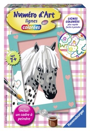 Ravensburger Painting By Numbers Horse 295135