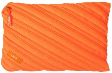 ZIPIT Neon Pencil Case Large Crazy Orange
