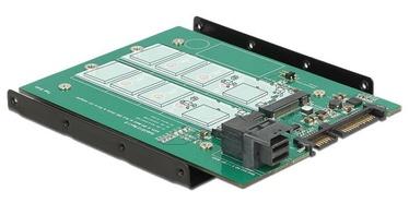 Delock Adapter SATA 22 pin / SFF-8643 NVMe / 1 x M.2 Key M + 1 x M.2 Key B