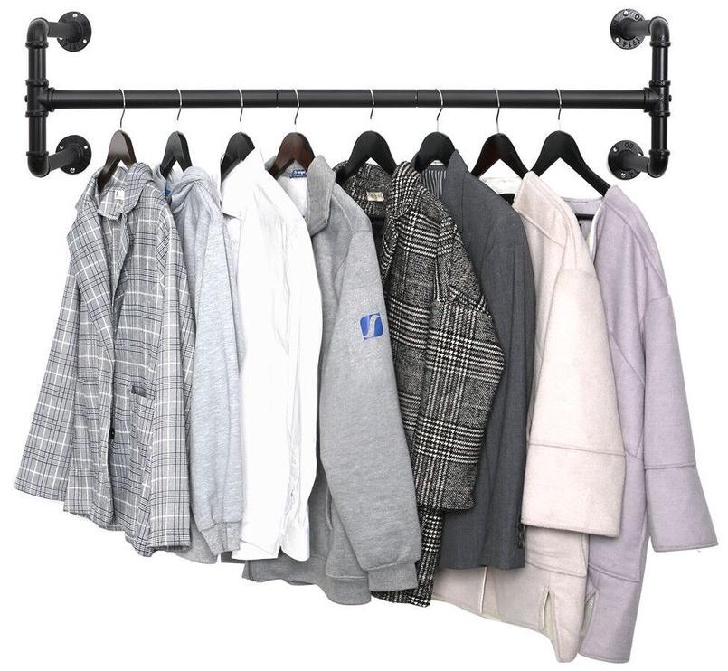 Вешалка для одежды Songmics, черный