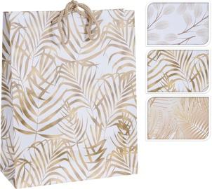 Подарочный пакет APF478220, золотой/белый/многоцветный/, 180 x 80 x 230 мм