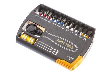 Skrūvgrieža uzgaļu un atslēgu komplekts Forte Tools BT14-00, 14gab.