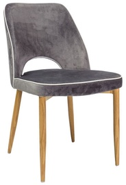Valgomojo kėdė Signal Meble Verdi Grey, 1 vnt.