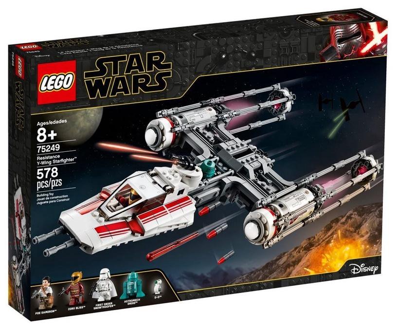 Конструктор LEGO Star Wars Resistance Y-Wing Starfighter 75249 75249, 578 шт.