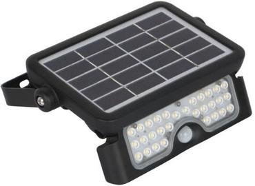 Kobi Solar Spotlight with Sensor Black 5W LED
