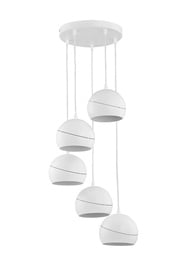 LAMPA GRIESTU YODA WHITE 2075 5X60W E27