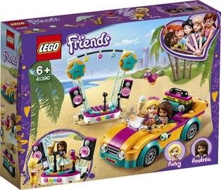 Konstruktors LEGO® Friends 41390 Andrea auto un skatuve