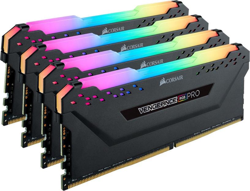 Corsair Vengeance RGB PRO Black 32GB 3200MHz CL14 DDR4 KIT OF 4 CMW32GX4M4C3200C14