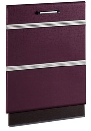 DaVita Palermo 08.69.1 Kitchen Door For Dishwasher Wenge Oak/Eggplant