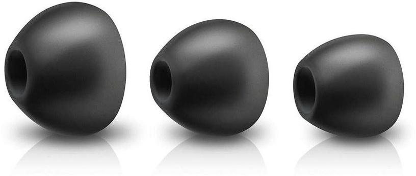 Ausinės Philips BASS+ SHE4305 In-Ear Earphones Black