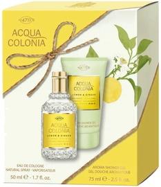 Набор для женщин 4711 Acqua Colonia Lemon & Ginger 2pcs Set 125 ml EDC Unisex