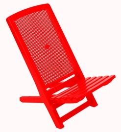 Verners Sunny Beach Chair Red