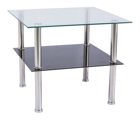 Glass Table Coffee Table.Signal Meble Tessa Coffee Table 60x60cm Glass