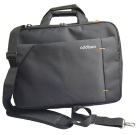Addison Notebook Bag Black 15.6""