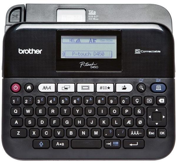 Принтер этикеток Brother PT-D450VP, 740 г