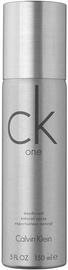 Vyriškas dezodorantas Calvin Klein CK One Unisex Spray, 150 ml