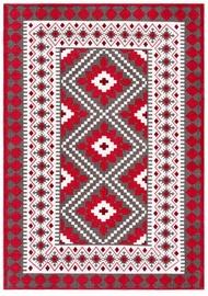 Ковер 4Living Tuike Red, красный, 140 см x 200 см