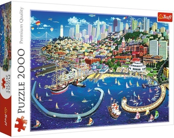 Trefl Puzzle San Francisco Bay 2000pcs 27107