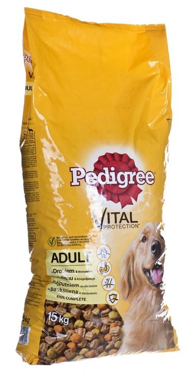 Pedigree Vital Protection Dry Food w/ Poultry & Vegetables 15kg