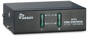 Inter-Tech AS-21DA DVI IPC KVM Switch