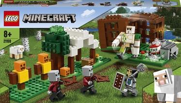 Конструктор LEGO Minecraft Аванпост разбойников 21159, 303 шт.