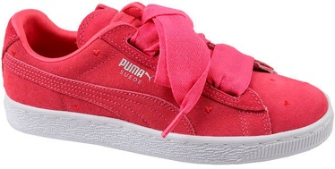 Puma Suede Heart Kids Shoes 365135-01 Pink 38.5