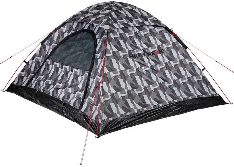 Četrvietīga telts High Peak Monodome, pelēka