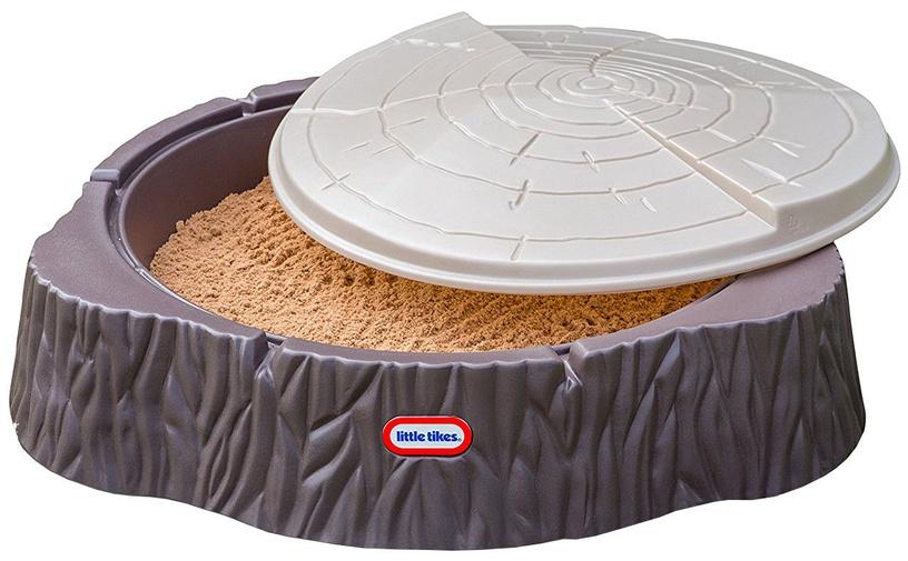Smilšu kaste Little Tikes Woodland, 109x96 cm, ar vāku