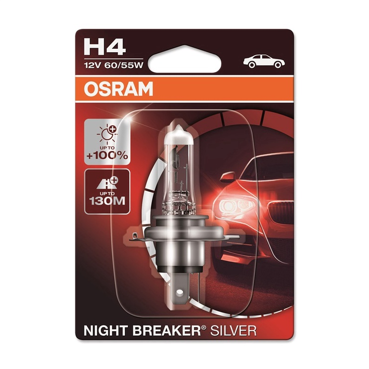 Osram Night Breaker Silver H4 60/55W 12V