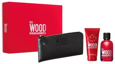 Набор для женщин Dsquared2 Red Wood 3pcs Set 200ml EDT