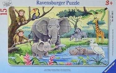 Puzle Ravensburger Animals Of Africa 061365, 15 gab.
