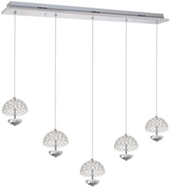 Milagro Venus Ceiling Lamp 5x5W LED Chrome